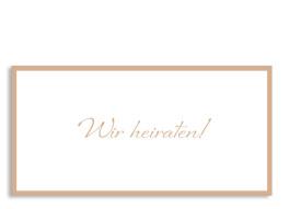 Hochzeitseinladung Verona (Postkarte)