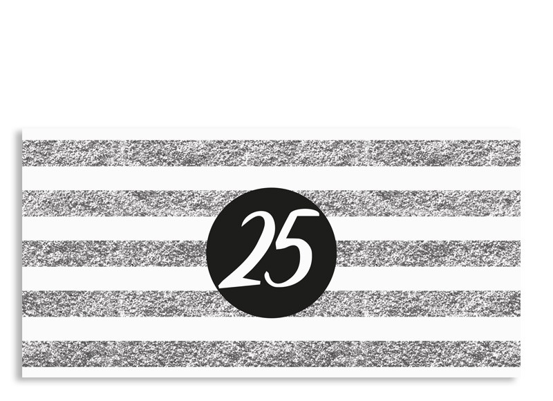 Einladungskarten Silberhochzeit Einladungskarten: Einladungskarten Zur Silberhochzeit Silber