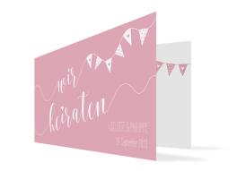 """Einladungskarten Hochzeit """"Malmö"""""""