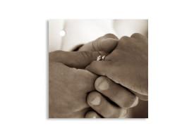 Geschenkanhänger Dublin für Hochzeitsgastgeschenke Beige