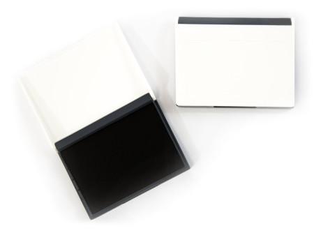 Stempelkissen (schwarz - 70x110)