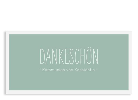 """Danksagung zur Kommunion """"Licht"""" (Postkarte)"""
