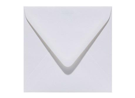quadratische Umschläge 125 x 125 mm in weiß