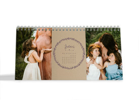 "Choose your Pics Fotokalender ""Nature""  aubergine"