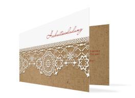 Einladung zur Hochzeit Heidelberg (Klappkarte)