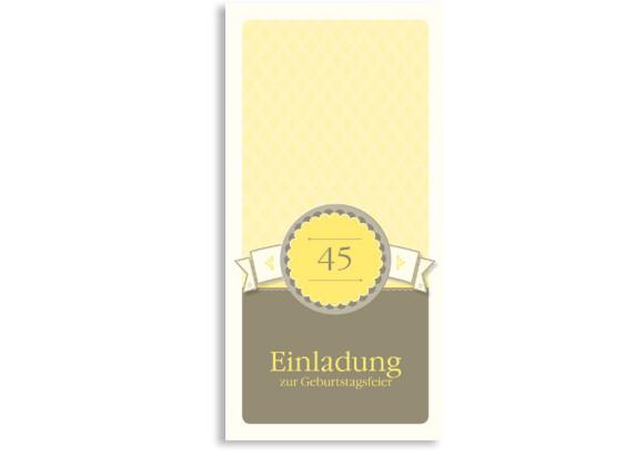 Einladungskarten Anniversary