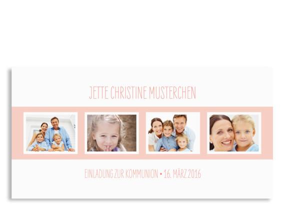 Kommunionseinladung Jette/Jannik FRESH