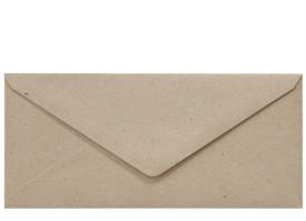 Umschlag DL (220 x 110 mm), fluting grey