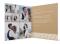 Hochzeitsdanksagung (Klappkarte quadratisch), Motiv: Gibraltar, Innenansicht, Farbvariante: weiss