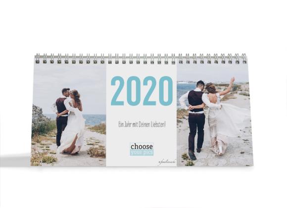 Choose your Pics Fotokalender, Motiv: Big, Innenansicht, Farbvariante: eisblau