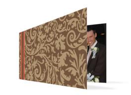 Hochzeits-Danksagungskarte Rokko (Klappkarte)