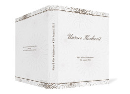 Gästebuch Mandala zur Hochzeit (Ringbuchordner DIN A4)