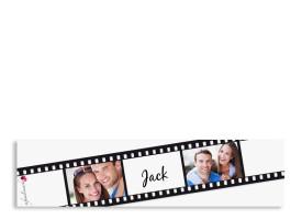 Banderolen für Servietten Hollywood Weiß