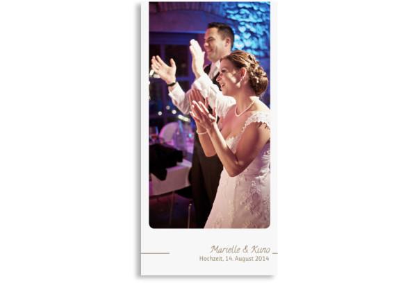 Hochzeits-Danksagungskarte Boston (Postkarte)