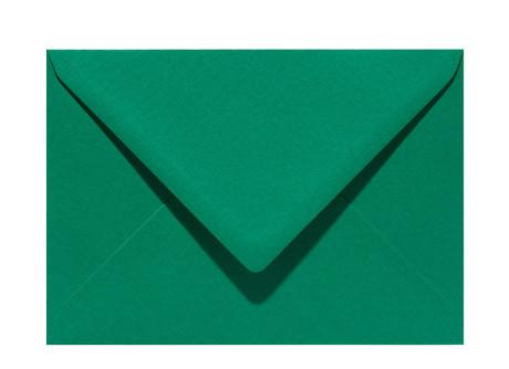 Umschlag im Format C6 (162 x 114 mm), dark green