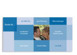 Danksagung Hochzeit Stockholm (Postkarte)