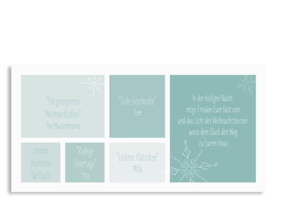 Karte zu Weihnachten Weihnachtsgrüße