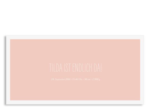 Babykarte Tilda/Till