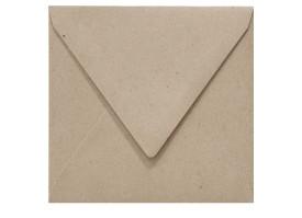 Umschlag quad. (155 x 155 mm), fluting grey