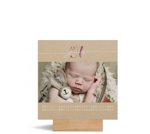 "Foto-Tischkalender ""Naturblick""  150x150 mm"