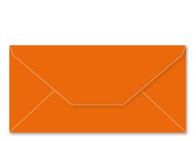 ANGEBOT! Umschlag DL (220 x 110 mm), orange