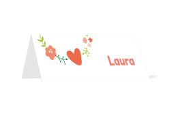 Tischkarte Laura/Levi