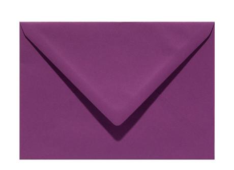 Umschlag C6 aubergine