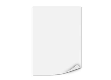 Einlegeblatt unbedruckt, Transparentpapier, 146 x 208 mm