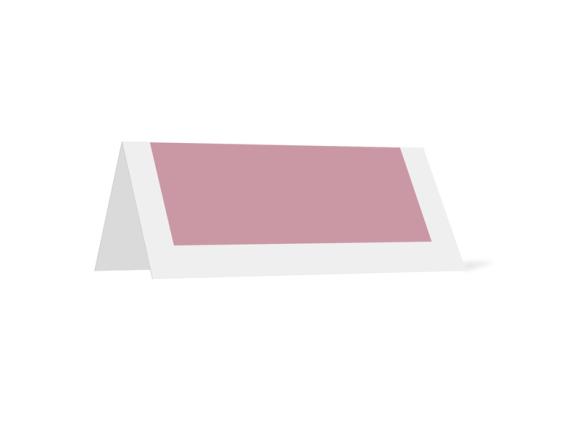 Kartenformat Tischkarte, Motiv: TK Salzburg, Rückseite, Farbvariante: altrosa