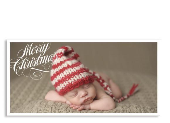 Weihnachtspostkarte Classic