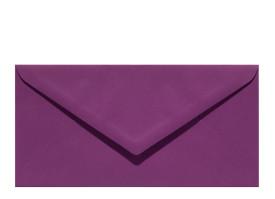 Umschlag DL (220 x 110 mm), aubergine