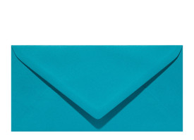 Umschlag DL (220 x 110 mm), turquoise