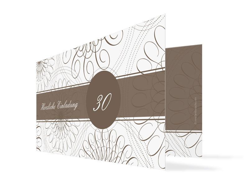 Nice Einladungskarten Format #4: Einladung Zum Geburtstag Mandala (Klappkarte) ...