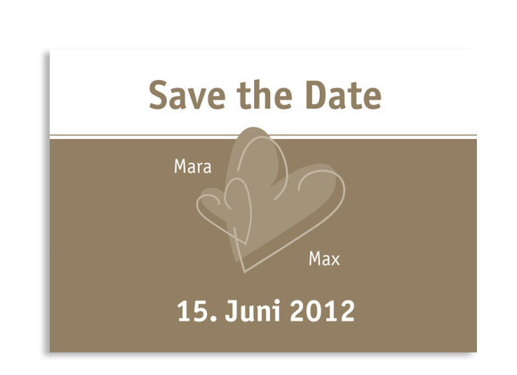 Save-The-Date-Karte London zur Hochzeit (Postkarte A6)