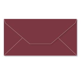 ANGEBOT! Umschlag DL (220 x 110 mm), bordeaux