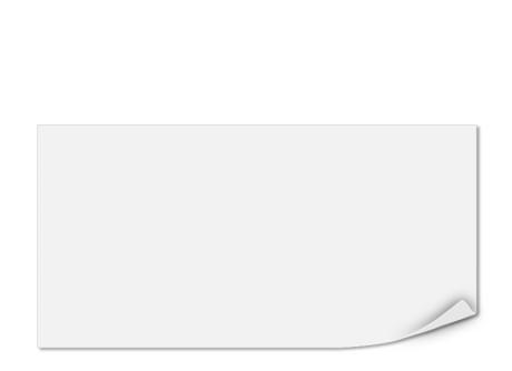 transparente Einlegeblätter für DIN-Lang-Formate