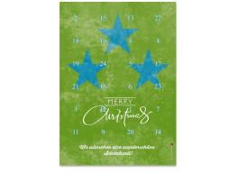 Adventskalender Vintage Stars (DIN A4)