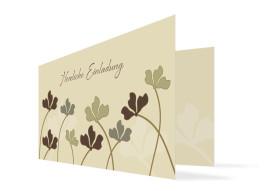 Einladungskarte Growing zum Geburtstag