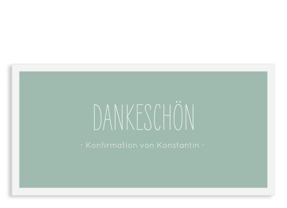 """Danksagung zur Konfirmation """"Licht"""" (Postkarte)"""