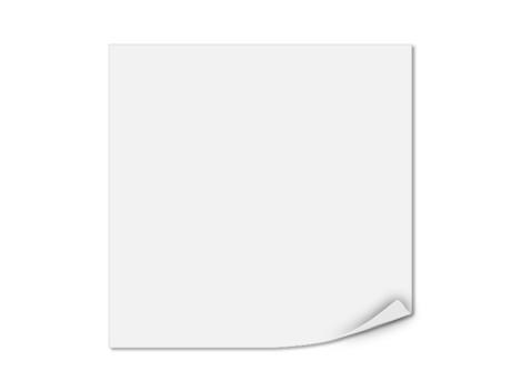 Einlegeblatt unbedruckt, Transparentpapier, 103 x 103 mm