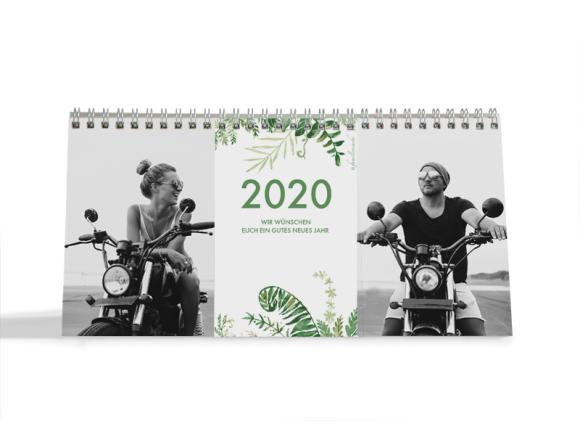 Choose your Pics Fotokalender, Motiv: Greenery, Innenansicht, Farbvariante: hellgruen