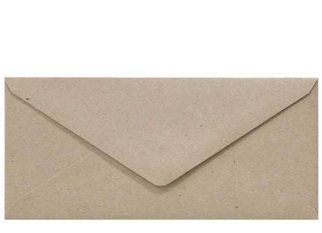 Umschlag DIN Lang fluting grey