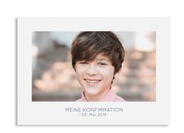 "Konfirmationseinladungen ""Ausblick"" (Postkarte)"