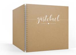 "Gästebuch ""Malaga"" (30 x 30cm)"