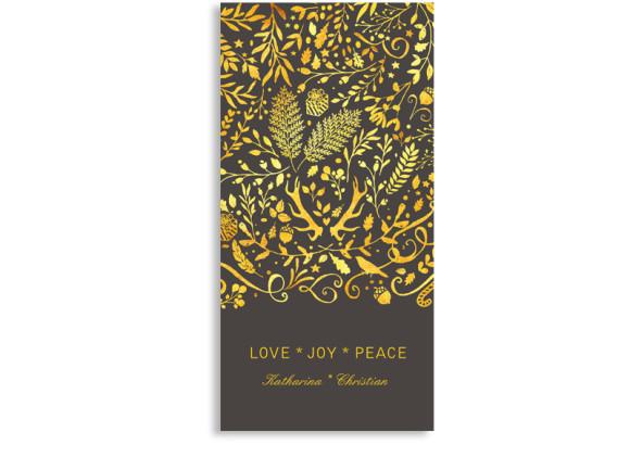 Fotokarte zu Weihnachten (Postkarte)