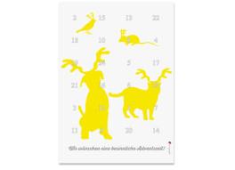 Adventskalender Haustiere (DIN A4)