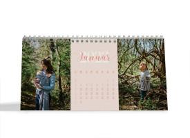 "Choose your Pics Fotokalender ""Typo""  apricot"