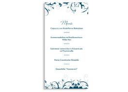 Menükarten zur Hochzeit Miami (DIN Lang-Karte)