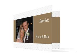 Hochzeitsdanksagung Prag (Klappkarte C6)