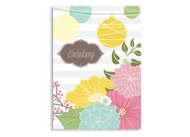 Geburtstagseinladungen Honolulu Braun
